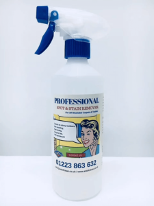 Professional Carpet Upholstery and Fabric Spot & Stain Remover (500ml)